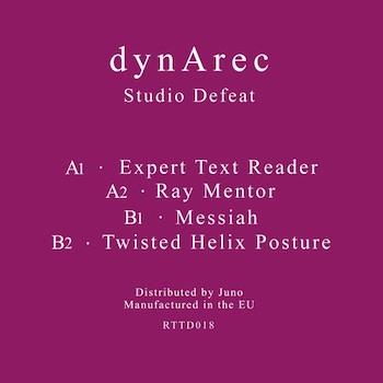 """dynArec: Studio Defeat [12""""]"""
