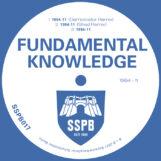 """Fundamental Knowledge: 1994-11 — incl. Remix par Shed [12""""]"""