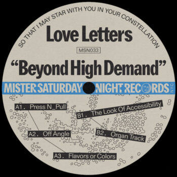 "Love Letters: Beyond High Demand [12""]"