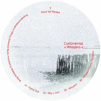 "Continental: Whispers — incl. Remix par Cosmin TRG [12""]"