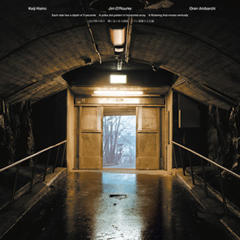 Haino / O'Rourke / Ambarchi: Each side has a depth of 5 seconds A polka dot pattern… [LP]