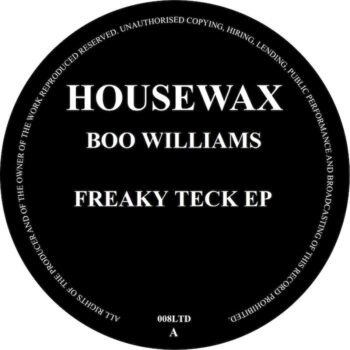 "Williams, Boo: Freaky Teck EP [12""]"