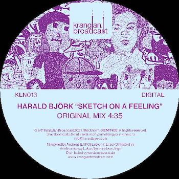 "Björk, Harald: Sketch On A Feeling — incl. remix par Extrawelt [12""]"