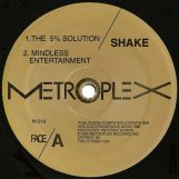 "Shake: The Five Percent Solution [12""]"