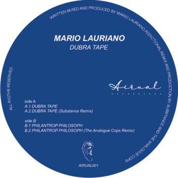 "Lauriano, Mario: Dubra Tape — incl. remix par Substance [12""]"