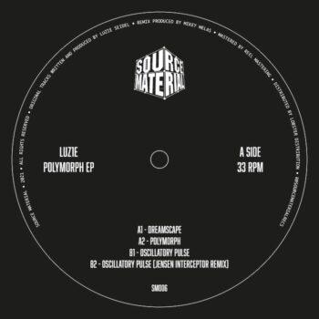 "Luz1e: Polymorph EP c incl. Remix par Jensen Interceptor [12""]"