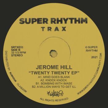 """Hill, Jerome: 2020 EP [12""""]"""