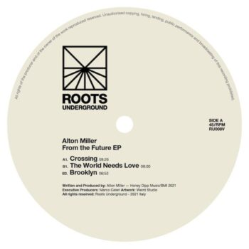 """Miller, Alton: From The Future EP [12""""]"""