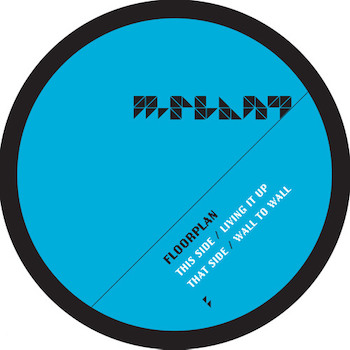 """Floorplan: Living It Up / Wall To Wall [12""""]"""