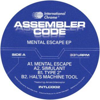 "Assembler Code: Mental Escape EP [12""]"