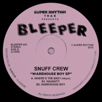 "Snuff Crew: Warehouse Boy EP [12""]"