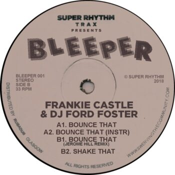 """Frankie Castle & DJ Ford Foster: Bounce That [12""""]"""