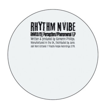 "DJ Perception: Phenomenal EP [12""]"
