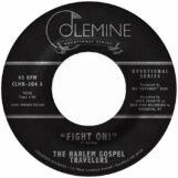 "Harlem Gospel Travelers, The: Fight On! / Keep On Praying [7"", vinyle clair]"