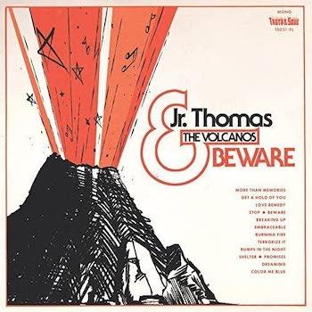 Thomas & The Volcanos, Jr.: Beware [LP, vinyle orange clair]