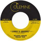 "Lamarr Organ Trio, Delvon: Jimmy's Groove [7"", vinyle rose]"