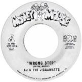 "AJ & The Jiggawatts: Wrong Step / Karma Is A Bitch [7"", vinyle doré]"