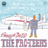 Pro-Teens, The: I Flip My Life Every Time I Fly [LP, vinyle orange]