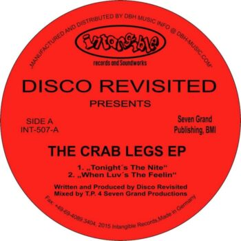 """Disco Revisited: The Crab Legs EP [12""""]"""