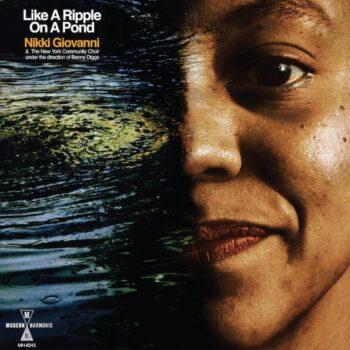 Giovanni, Nikki: Like A Ripple On A Pond [LP, vinyle bleu opaque]
