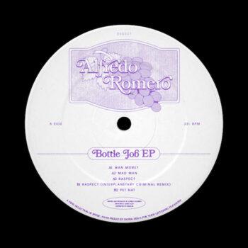 """Romero, Alfredo: Bottle Job EP [12""""]"""