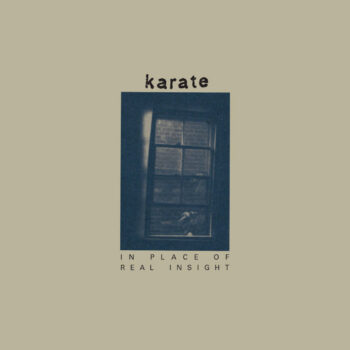Karate: In Place Of Real Insight [LP, vinyle doré]