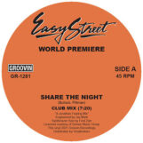 """World Premiere: Share The Night [12""""]"""