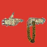 Run The Jewels: Run The Jewels 2 [2xLP, vinyle clair avec éclaboussures rouges et sarcelle]