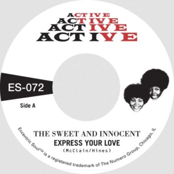 """Sweet & Innocent, The: Express Your Love / Cry Love [7"""", vinyle doré]"""