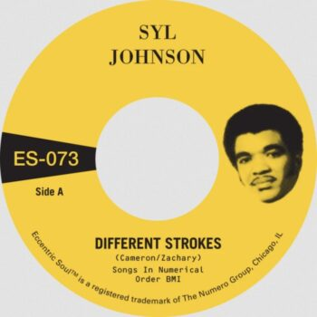 "Johnson, Syl: Different Strokes / Is It Because I'm Black? [7"", vinyle doré]"