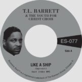 """Barrett & The Youth For Christ Choir, Pastor T. L.: Like A Ship (Without A Sail) / Nobody Knows [7"""", vinyle doré]"""
