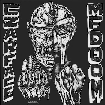 Czarface & MF Doom: Czarface Meets Metal Face [LP, édition 'noir & blanc' — vinyle blanc]