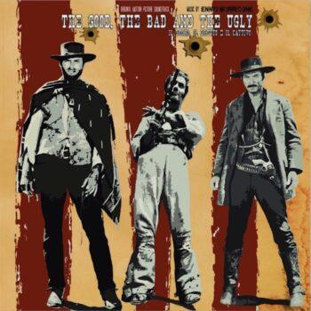 Morricone, Ennio: The Good, The Bad & The Ugly [LP, vinyle blanc]