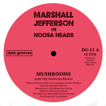 "Jefferson vs. vs Noosa Heads, Marshall: Mushrooms — incl. remix par Salt City Orchestra [12""]"