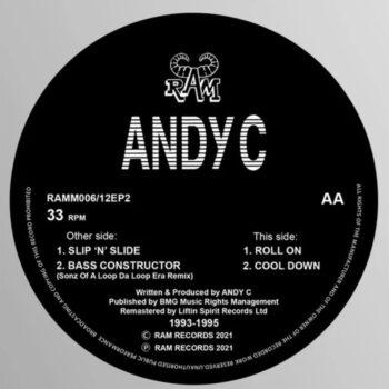 """Andy C: Slip 'n' Slide / Roll On [12""""]"""