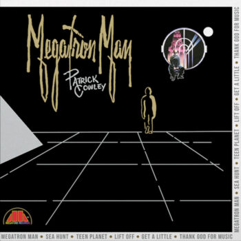 Cowley, Patrick: Megatron Man [LP, vinyle clair marbré or et argent]